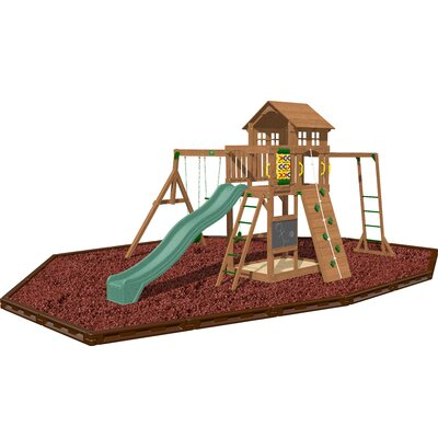 Playtime Cypress Swing Set - Color: Red at Sears.com