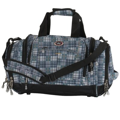 """Silver Lake 22"""" Travel Duffel Color: Olive Plaid"""