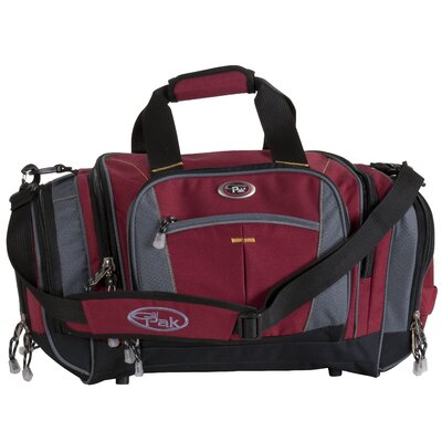 """Silver Lake 22"""" Travel Duffel Color: Deep Red"""