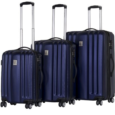 CalPak Morai 3 Piece Luggage Set - Color: Midnight Blue at Sears.com