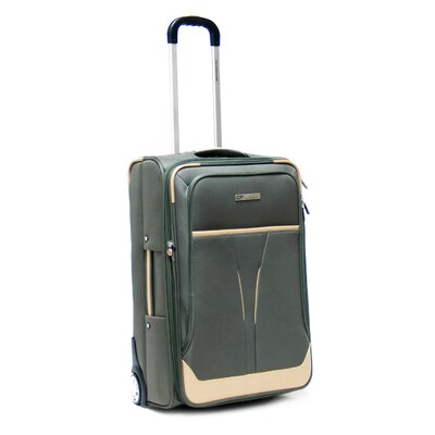 "CalPak Kensington 25"" Suitcase in Khaki - Size: 25"" H x 16"" W x 9"" D at Sears.com"