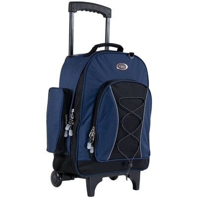 CalPak Bleacher Rolling Backpack - Color: Navy Blue at Sears.com
