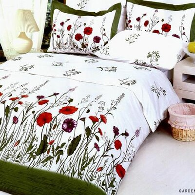 Garden 6 Piece Full/Queen Duvet Cover Set