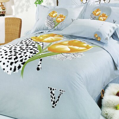 Hayat 6 Piece Queen Duvet Cover Set