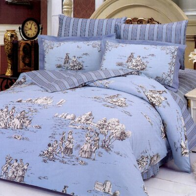 Le Vele Balo 6 Piece Full %2F Queen Duvet Cover Bed in a Bag Set The Home Decorating Company offers cheap bedding sets, cheap comforters ...