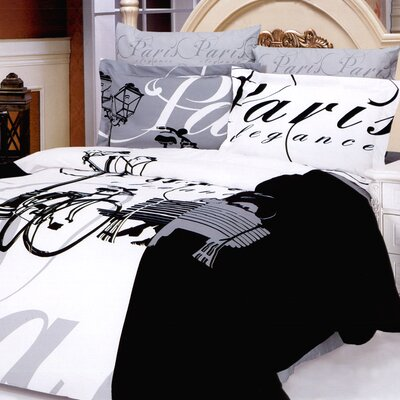 Full Size  on Ellysee 6 Piece Full   Queen Duvet Cover Bed In A Bag Set   Wayfair