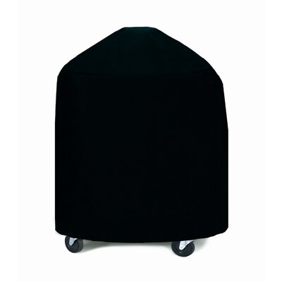 Extra Large Round Grill / Smoker Cover Fabric: Black
