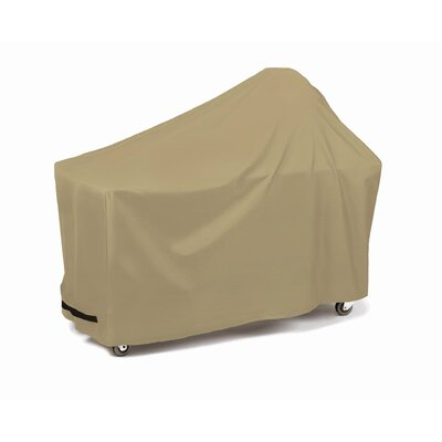 Round Grill with Long Table Cover Fabric: Khaki