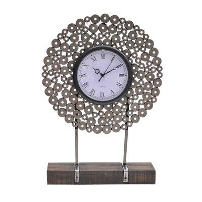 Manhattan Metal Washer Table Clock image