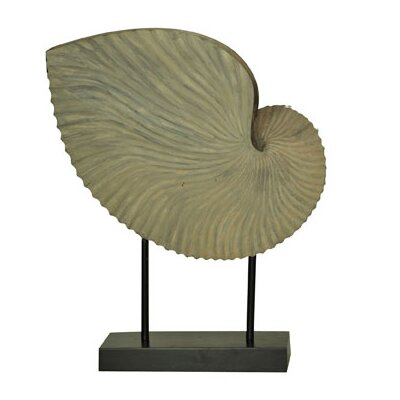 Sea Side Large Shell Statue