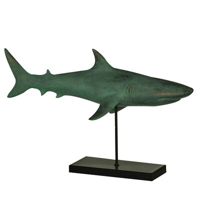 Sea Side Shark Statue image
