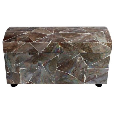 Movado Large Pearl Shell Box