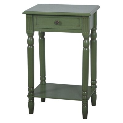 Vivid End Table Color: Sage Green image