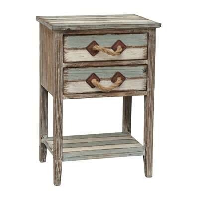 Nantucket Wood End Table image