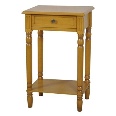 Vivid End Table Color: Golden Honey image