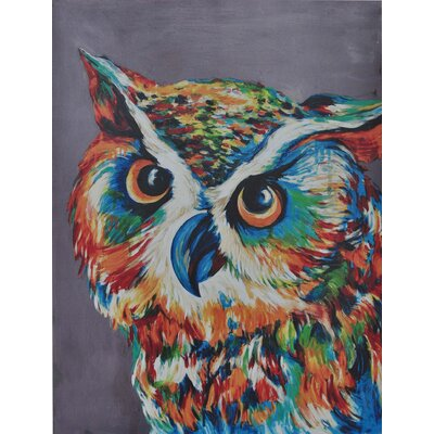 Hootie Painting Print On Canvas