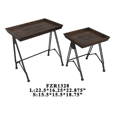 Paris Voyager 2 Piece Nesting Tables