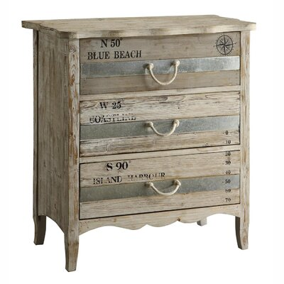 Grand Isle 3 Drawer Dresser