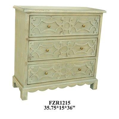 Aspen 3 Drawer Dresser