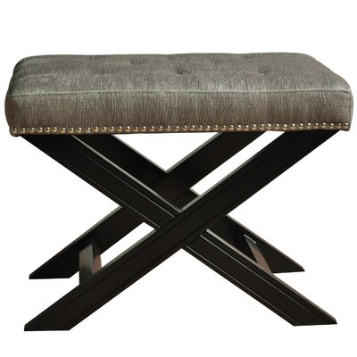 Fifth Avenue with Nailhead Trim Accent Stool