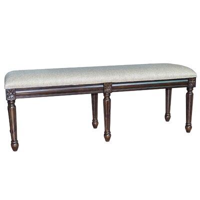 The Hampton Linen Accent Bedroom Bench