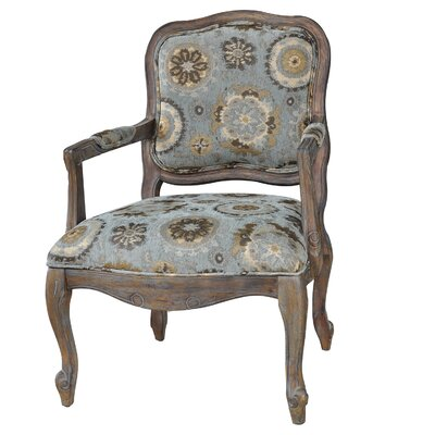 Hillcrest Rustic Frame and Pattern Armchair