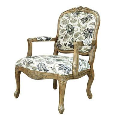 Huntley Pattern Fabric Arm Chair