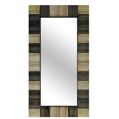Resin Checkerboard Wall Mirror