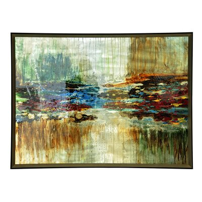 'Horizontal Escape' Framed Painting Print CVTOP1970