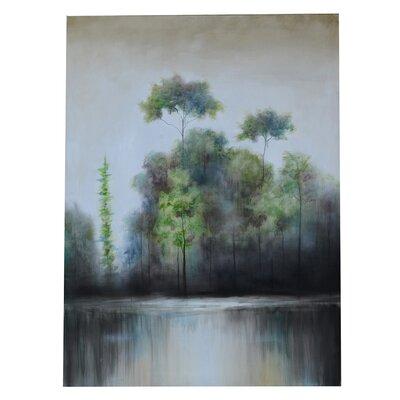 Haze Painting Print On Canvas