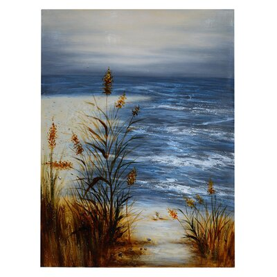 High Tide Painting Print On Canvas