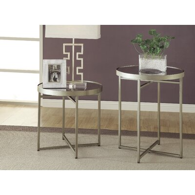 Midtown 2 Piece End Table Set