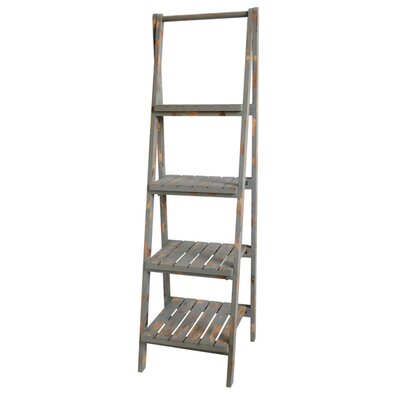 Archer Tier Angled Leaning Bookcase 54 Product Photo