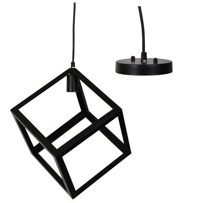 Henry Street Box 1-Light Geometric Pendant