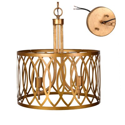 Massillon 2-Light Drum Pendant