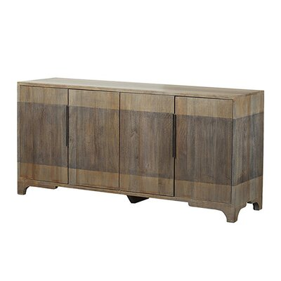 Whitney Mango Wood 4 Door Sideboard