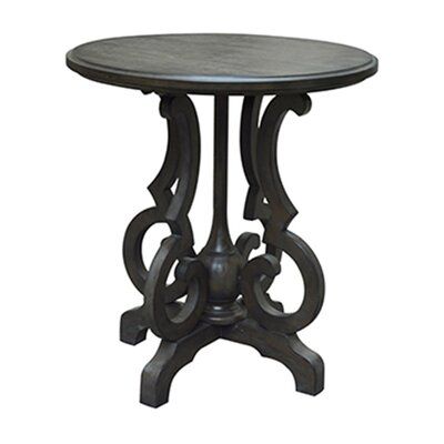 Batley Shaped Leg Round End Table