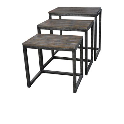 Smith Metal 3 Piece Nesting Tables
