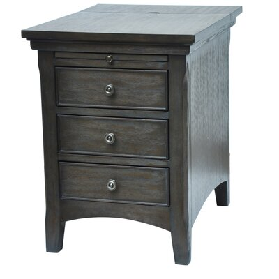 Brookdale Pull Shelf End Table