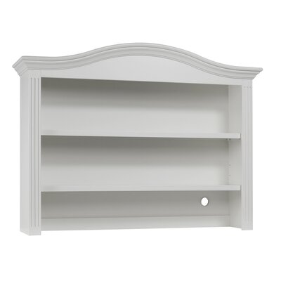 Providence 41.5 H x 54.25 W Desk Hutch Finish: White