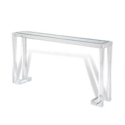 Ava Console Table Finish: Clear