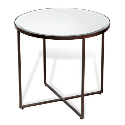 Marissa End Table Finish: Rust