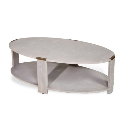 Evelyn Coffee Table Color: Cream