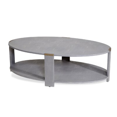 Evelyn Coffee Table Finish: Grey