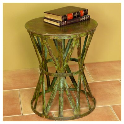 In store financing Mara End Table Finish: Distressed R...