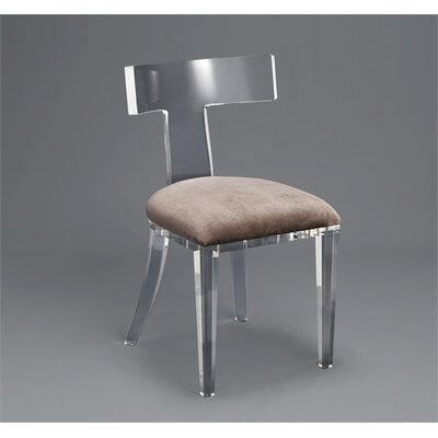 Tristan Dining Chair Upholstery: Gray