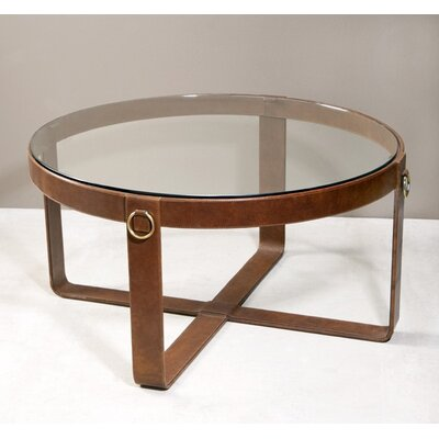 Jameson Leather Coffee Table