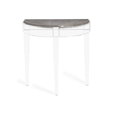 Amal Demilune Console Table