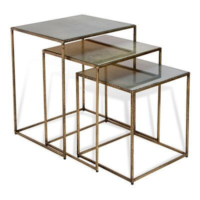 Maci Rectangular 3 Piece Nesting Table