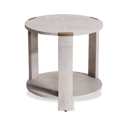 Evelyn End Table Finish: Cream